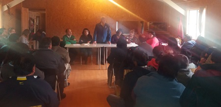 Vecinos de Llancacura, sector rural de La Unión, dieron a conocer sus necesidades a servicios públicos
