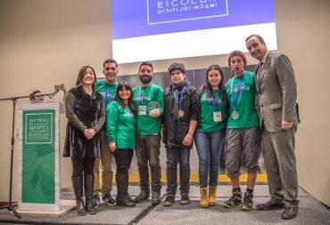 Jóvenes de Bio-Bío, Coquimbo, Los Lagos y Santiago se adjudicaron la Feria Antártica Escolar 2017