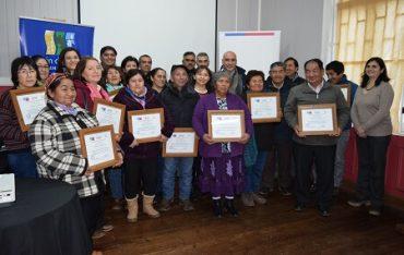 Apicultores de INDAP se certificaron en nuevos subproductos de la miel