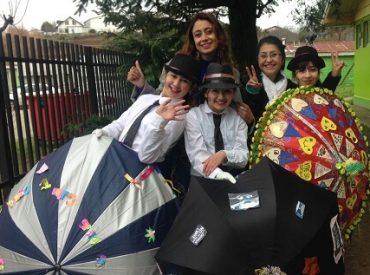 Con gran éxito se realizó una nueva versión del Festival Preventivo de Paraguas en Maullín