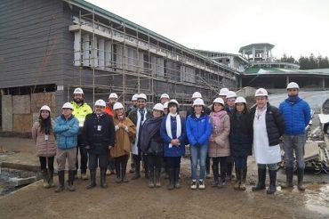 Directores de establecimientos de la Red Provincial visitaron obras de hospitales interculturales Pu Mülen y Futa Srüka Lawenche