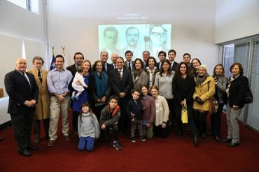 Intendente de la Región del Bíobío inaugura salón en honor al exintendente Alfonso Urrejola