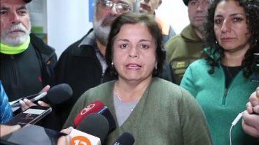 """Ministra Williams: """"La empresa Cerro Bayo debe asumir el rol de informar de manera periódica sobre el avance de la búsqueda"""""""