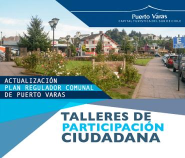 En Puerto Varas la comunidad está invitada a participar de elaboración del Plan Regulador