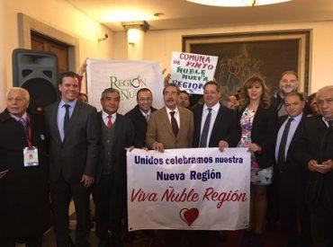 Senador Harboe celebra aprobación de Ñuble Región en Cámara de Diputados