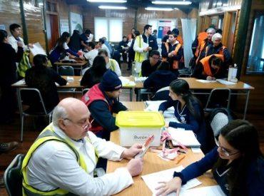 Seremi de Salud Los Ríos realizó exámenes preventivos a más de 100 trabajadores de Prolesur en Los Lagos