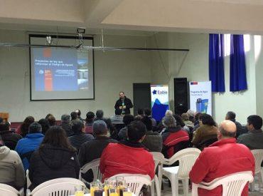 Comités de APR de comuna de Santa Bárbara participan en charla sobre reforma al Código de Aguas y Ley de Servicios Sanitarios