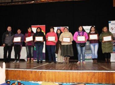 Omil de Castro Municipio realizó nueva certificación de cursos para 90 personas
