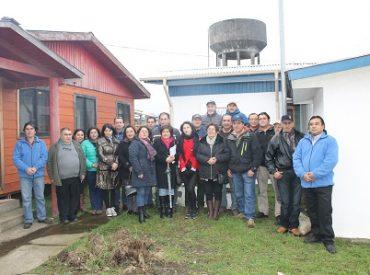 Con visita a terreno culminó curso para representantes de APR del Sence Los Ríos