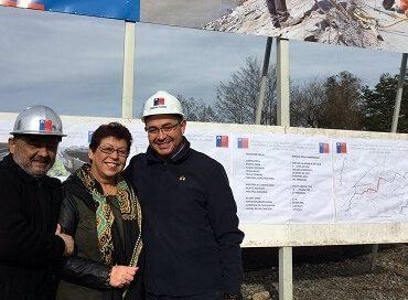 Avanzan obras en nuevo colector de aguas lluvias en Chillán