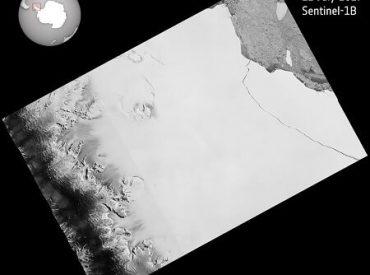 Finalmente se desprendió gigantesco témpano de la plataforma Larsen C
