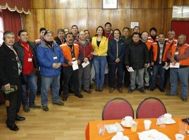Camioneros municipales celebraron por primera vez su día en Hualpén