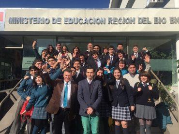 Seremi de Educación destacó a estudiantes finalistas en competencia de ciencia escolar más importante del mundo