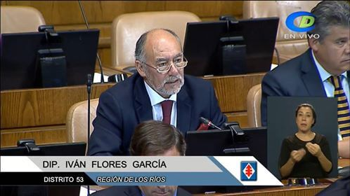 """Diputado Flores por declaración de reineta como especie migratoria: """"No permitiremos embarcaciones de otras regiones en Los Ríos"""""""