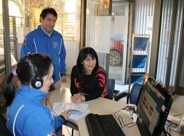 SENCE implementa sistema de atención para personas sordas en Valdivia