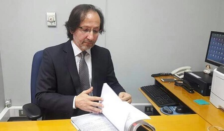 Ministro Álvaro Mesa realiza diligencias en Valdivia, Futrono y Panguipulli en el marco de casos por violaciones a los DDHH