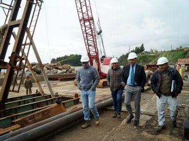 MOP invierte $5281 millones en obras portuarias en la Región del Biobío