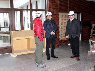 Sólo detalles y terminaciones restan para entregar la nueva Biblioteca Municipal de Máfil