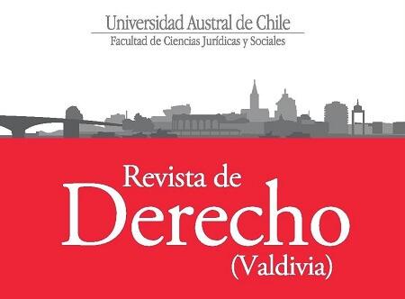 Resultado de imagen para Publicación de la Facultad de Ciencias Jurídicas de la  Universidad Austral de Chile