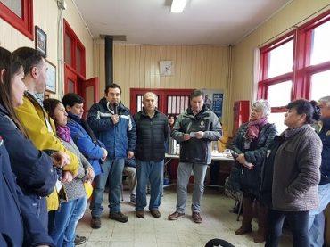 En Pishuinco, vecinos valoran proyecto de respaldos energéticos implementados en su estación de médico rural