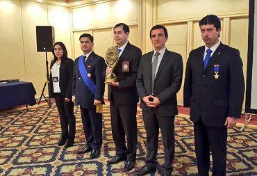 """Brigada de Delitos Sexuales y Menores Valdivia fue reconocida con premio """"Excelencia en la Investigación Criminal"""""""