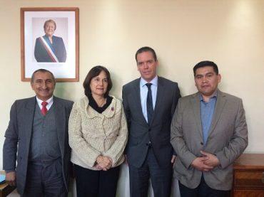 Harboe y alcaldes de San Ignacio y Alto Biobío consiguen aumento de recursos en departamentos de Salud tras reunión con ministra Castillo