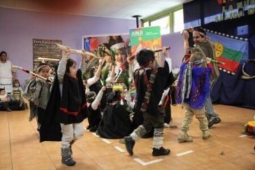 El rescate de la lengua y las tradiciones mapuches en jardines infantiles de la JUNJI es valorado por asociaciones indígenas