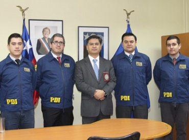 Por 3er año Oficina de Análisis de PDI Valdivia fue reconocida con premio internacional