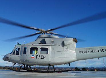 Coordinación SSO-FACH permitió rescate aéreo de paciente herido desde Caleta Milagro