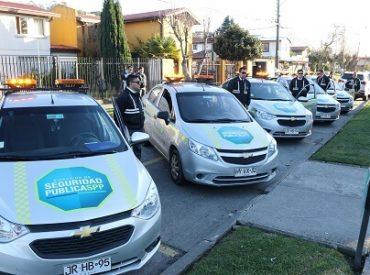 San Pedro de la Paz renovó su flota de vehículos de seguridad