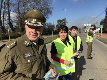 Buscan prevenir accidentes de tránsito relacionados con uso del celular