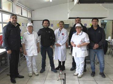JUNAEB supervisa entrega de alimentación a proyecto recreativo en Mehuin