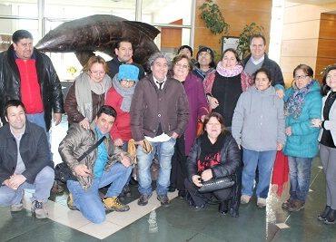 Locatarios y dirigentes de mercados puertomontinos conocieron planta de proceso de salmones