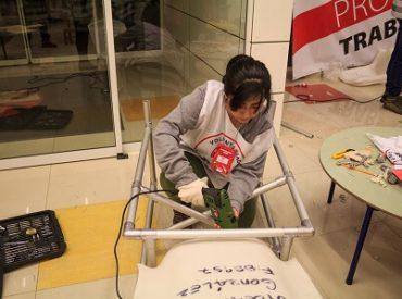 Voluntarios de Teletón construyen accesibilidad en la casa de pacientes de todo el país