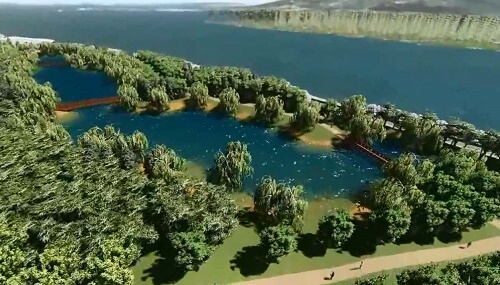 Plan de Reconstrucción Sustentable (PRES): inédita barrera de árboles para hacer frente a futuros tsunamis en Constitución
