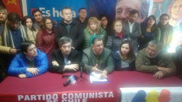 Presentan comando regional de Alejandro Guillier