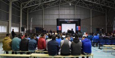 Cine itinerante de Injuv llegó hasta el Complejo Penitenciario de Punta Arenas