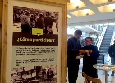 Kiosco ciudadano busca recoger propuestas para revitalizar el centro de Concepción