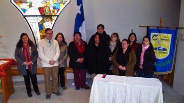 Dirigentes sociales de Coyhaique firmaron inédito convenio de colaboración mutua con Liceo Juan Pablo II