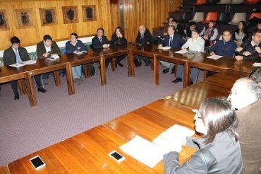Alcalde Sabat convocó a Asociación Regional de Municipios para analizar demandas de docentes