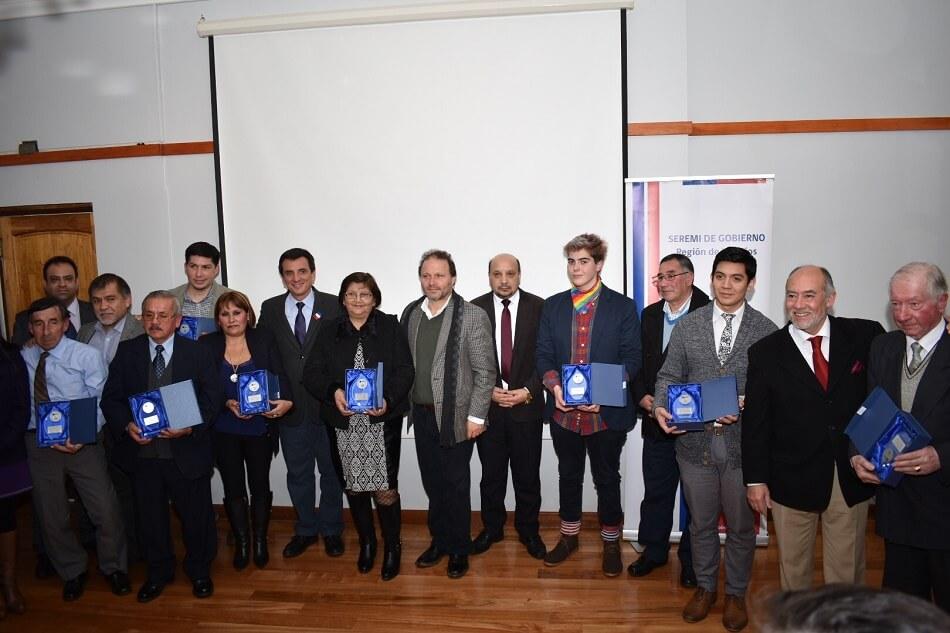 Gobierno en Los Ríos reconoció a dirigentes socialespor su destacado trabajo en favor de la comunidad, en el marco de la celebración de su día
