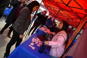 Jóvenes de Magallanes disfrutaron de la Feria Ciudadana de INJUV