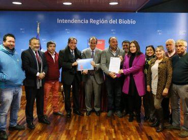 Firman millonario convenio FNDR para analizar protección costera de Caleta Lo Rojas