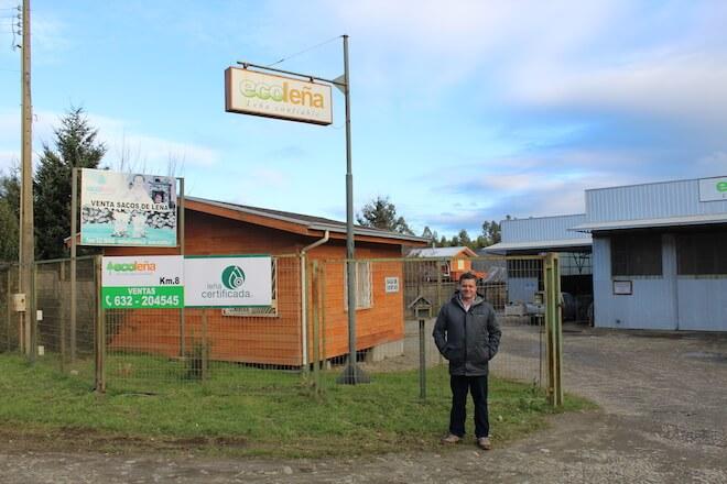Ecoleña: entregando calor sustentable en Los Ríos