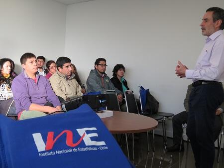 INE capacita a directores de obras municipales en el uso de la plataforma web de la cartografía del PreCenso 2016