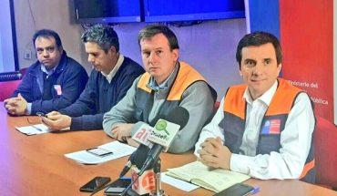 Intendente Ricardo Millán informó balance por temporal de lluvia y viento que afectó a la Región de Los Ríos