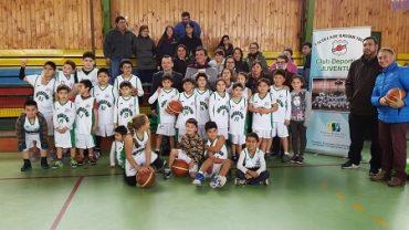 Intendente Ricardo Millán Acompañó Lanzamiento de Escuela de Básquetbol del Club Deportivo Juventud de Lanco