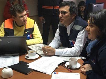 Mesa Técnica Regional de Emergencias evaluó sistema frontal que afecta a Los Ríos