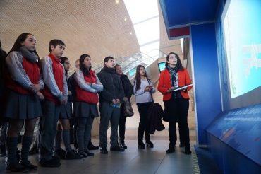 MOP inaugura stand sobre infraestructura aeroportuaria en Carriel Sur