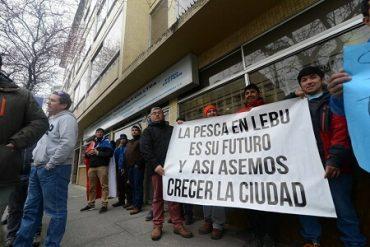 Pescadores artesanales de Lebu anuncian protesta masiva en Valparaíso